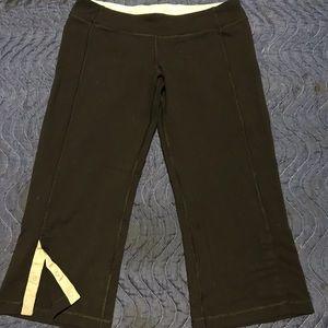 lululemon cropped black leggings